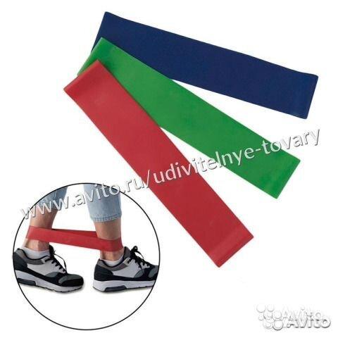 041bc92512d52 Резинка для фитнеса №1 Зелёная купить в Оренбургской области на ...