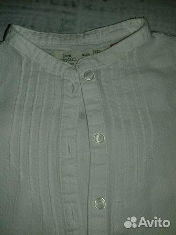 Рубашки Zara baby 9-12 мес 89231409967 купить 2