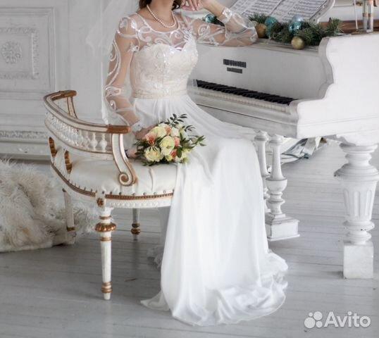 Свадебное платье Ulana, А-Силуэт 89524482466 купить 3