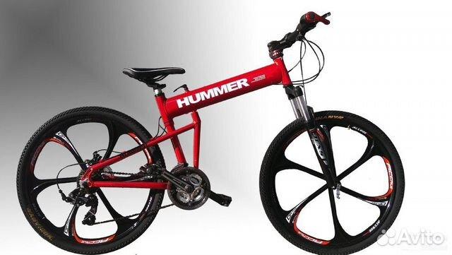 89527559801 Велосипед Хаммер,21 скорость, складной