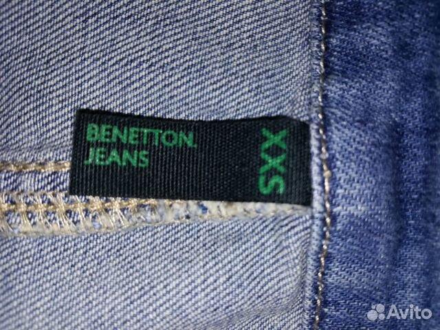Джинсовый сарафан Benetton р-р 100 89515683333 купить 3