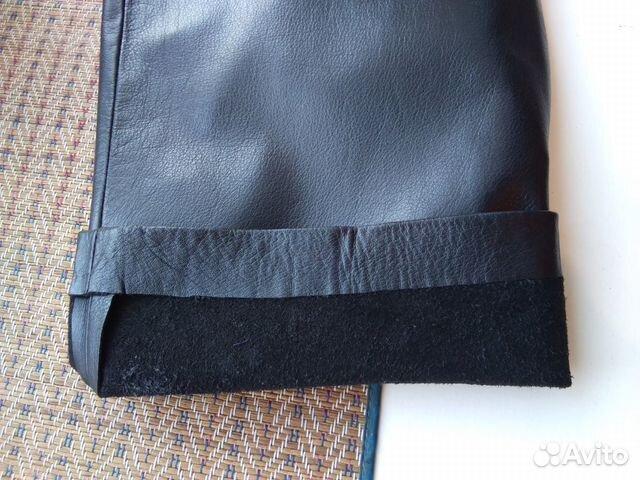 Брутальные кожаные брюки  89139131619 купить 5