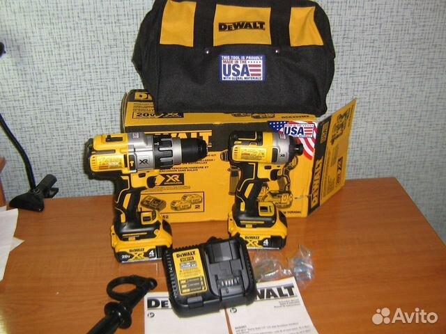 Новый набор шуруповертов Dewalt DCK299M2 США 89134329120 купить 2