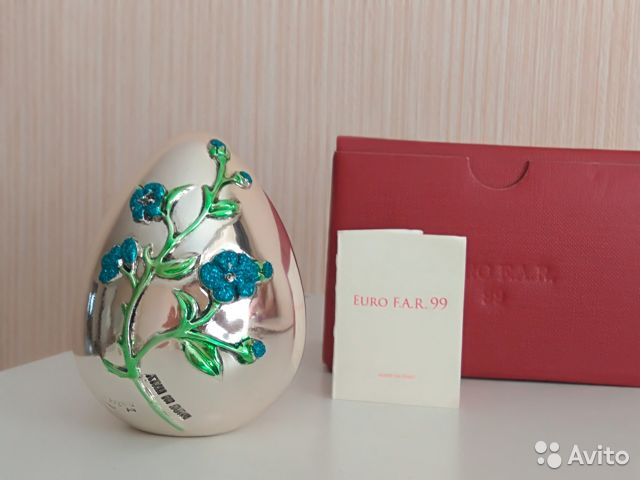Коллекционное яйцо, Италия, серебрение, Euro F.A.R 89110075006 купить 1