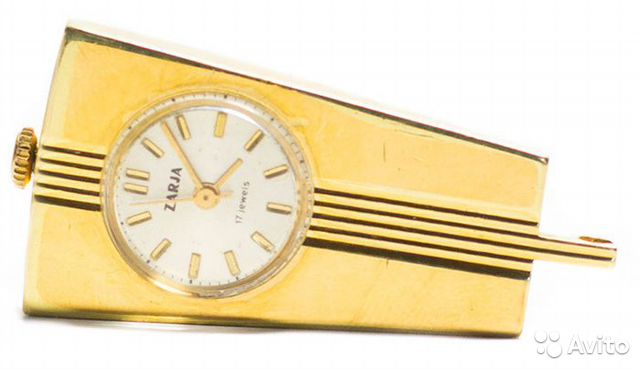 Часы зоря кулон