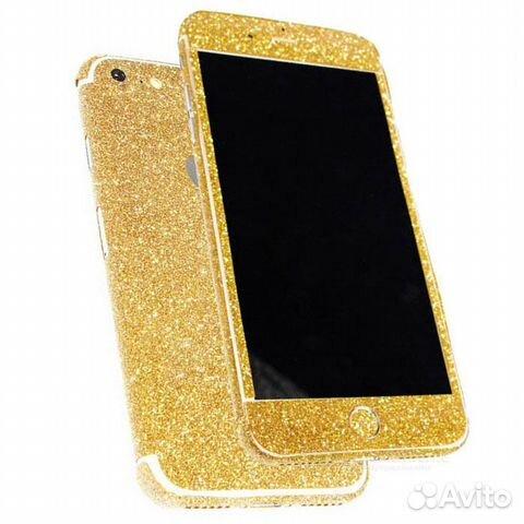 Блестящие наклейки для iPhone 6/ 6 S купить 2