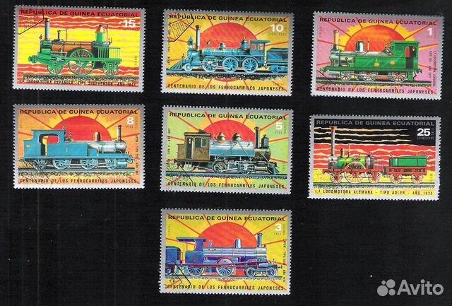 Почтовые марки Гвинеи Экваториальной 89275328672 купить 5