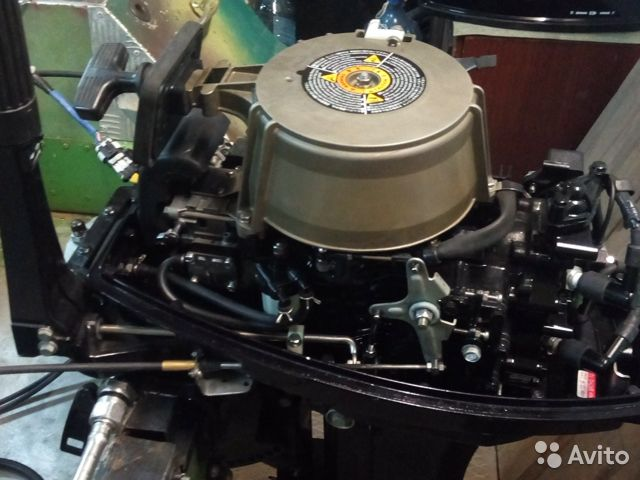 Продается лодочный мотор 2тк Нисан купить 3
