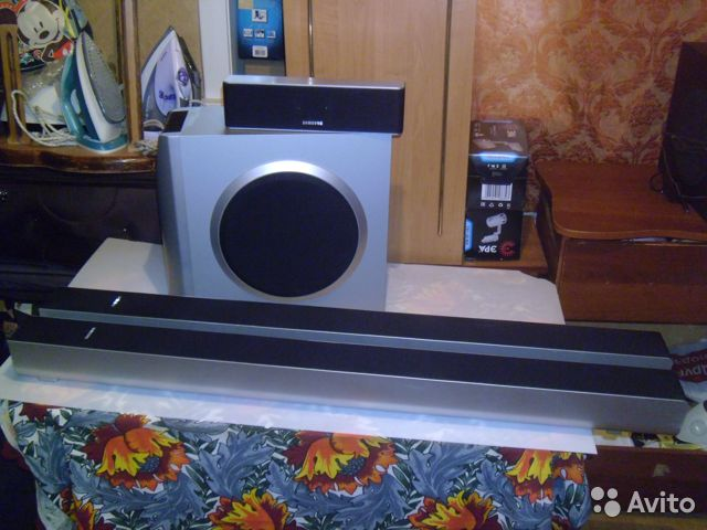 Комплект Колонок Самсунг psws-800TE 4шт. 4ом купить 3