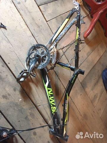 Рама велосипедная(алюминиевая)  купить 1