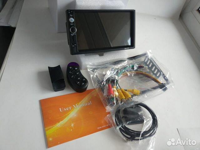 Магнитола Android 2 din. 1/16 gb. Новая  89146092844 купить 2
