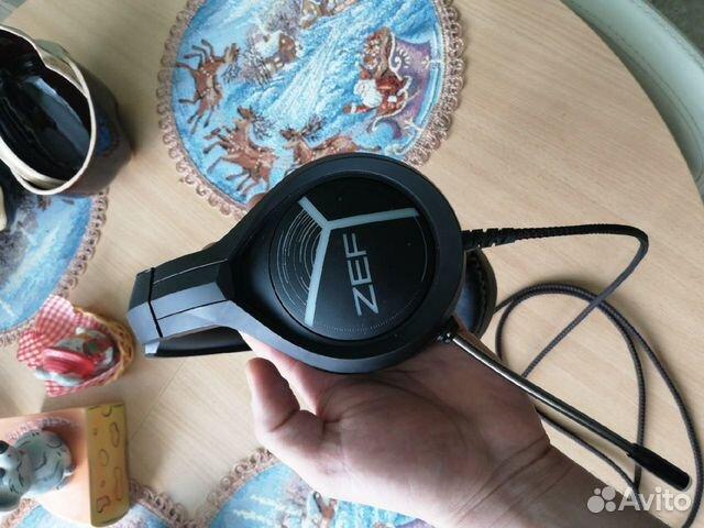 Игровые наушники Qcyber ZEF  89854542644 купить 9