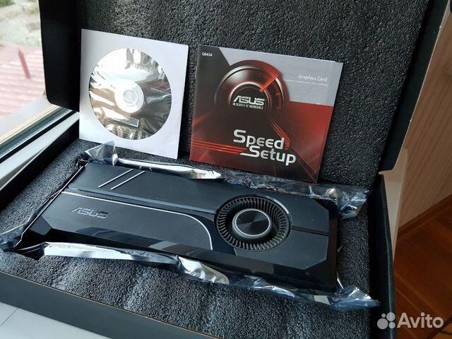 Видеокарта 8gb Asus GeForce GTX 1070Ti Turbo