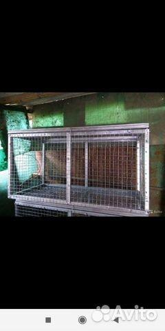 Клетки для содержания кроликов птиц и цыплят 89898713107 купить 9
