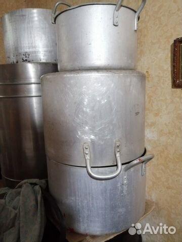 Кастрюли баки от 20 литров до 150  89507093833 купить 1