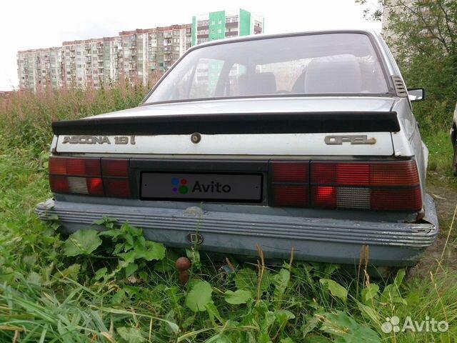 Opel Ascona, 1986