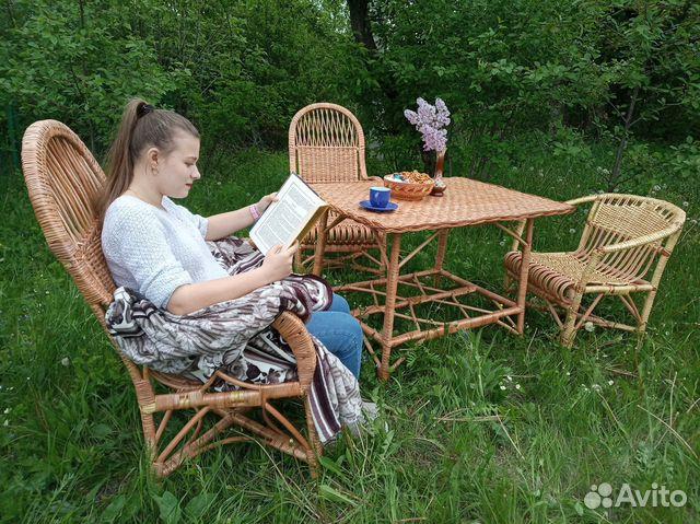 Комплект плетеной мебели  89805310848 купить 1