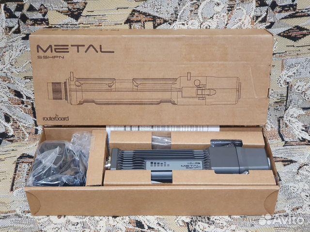 Новый Mikrotik Metal 5