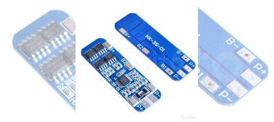 Контроллеры заряда BMS банок 1S/2S/3S/4S/5S/6S/10S