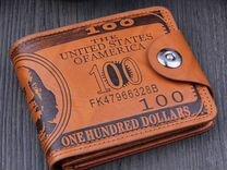 Кошелек 100 долларов США — Одежда, обувь, аксессуары в Москве