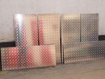 Лист Алюминиевый 1200 х 500 х 1.2 амг2М