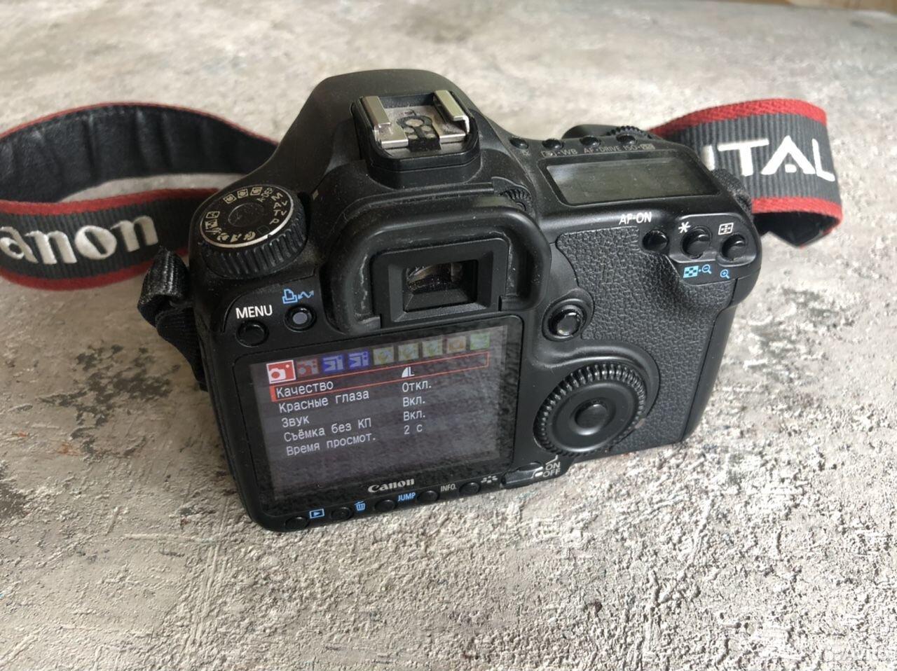 Зеркальный фотоаппарат Canon 40d  89211806235 купить 3