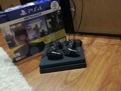 Sony PS4 slim 1tb на гарантии