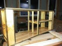 Полка навесная из дерева — Мебель и интерьер в Самаре