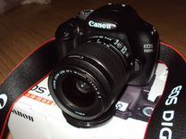 Зеркальный фотоаппарат Canon EOS 1100D Kit 18-55