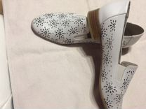 Туфли женские кожа 37-38