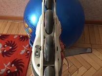 Роликовые коньки раздвижные+защита