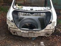Задняя часть кузова хендай солярис 1 седан