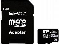 Карта памяти Silicon Power 32 гб класс 10
