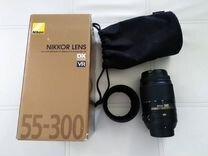 Объектив nikon AF-S DX 55-300mm
