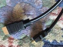 Кабель hdmi 2-Type-C mini