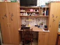 Письменный стол и два шкафа