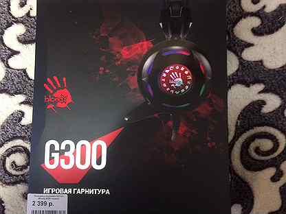 Игровые Наушники bloody G300