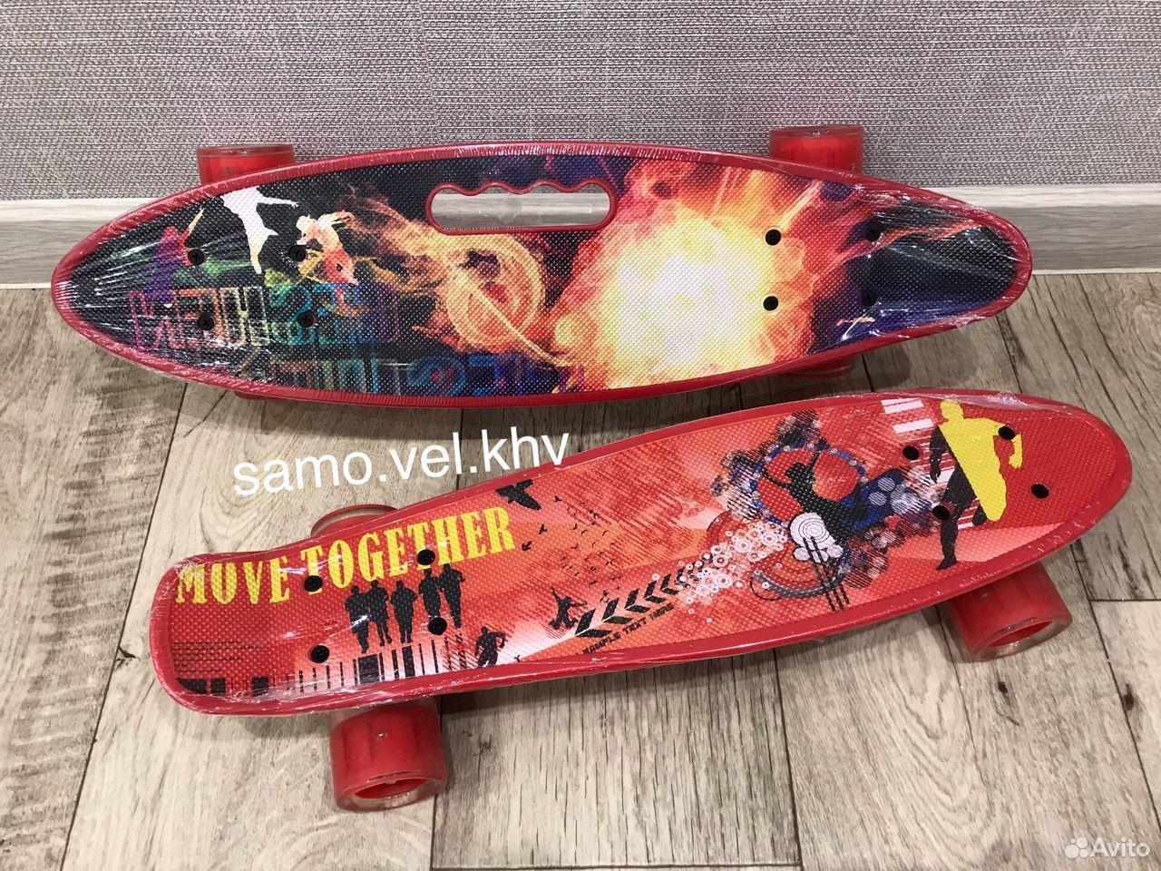 Скейтборд пенниборд новый  89242131563 купить 7