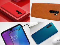 Чехлы, стекла Redmi Note 8 Pro, Xiaomi Mi 9, Mi A3 — Телефоны в Санкт-Петербурге