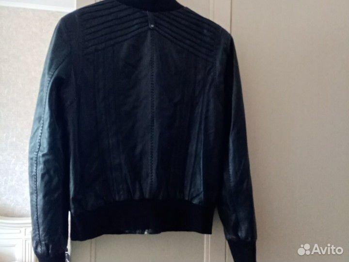 Куртка кожаная (натуральная