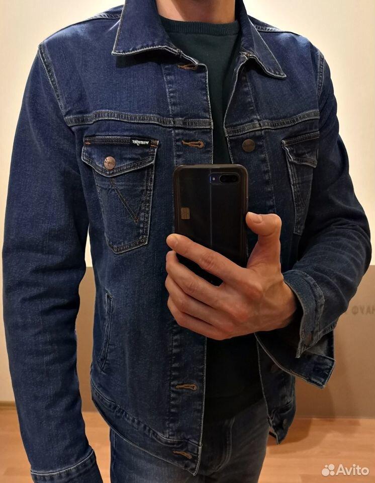 Куртка джинсовая Wrangler  89323238776 купить 2