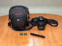 Зеркальный фотоаппарат Canon EOS 550D KIT 18-55IS