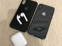 iPhone X 64gb + AirPods