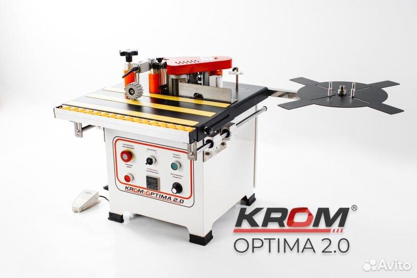 Кромкооблицовочный станок Krom Optima. Новый  88005005920 купить 1
