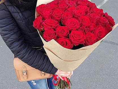 Букет из 25 Розы микс /Цветы /Доставка