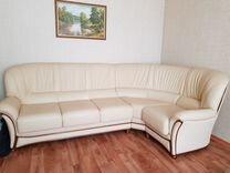 Продается кожанный диван