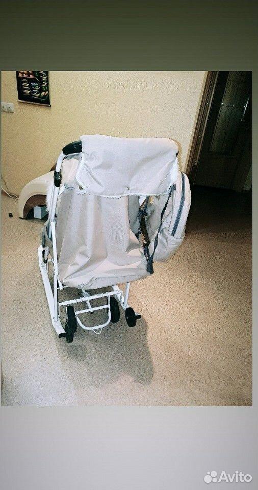 Санки-коляска Pikate  89224306600 купить 4