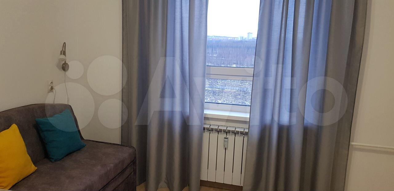 1-к квартира, 25 м², 13/17 эт.
