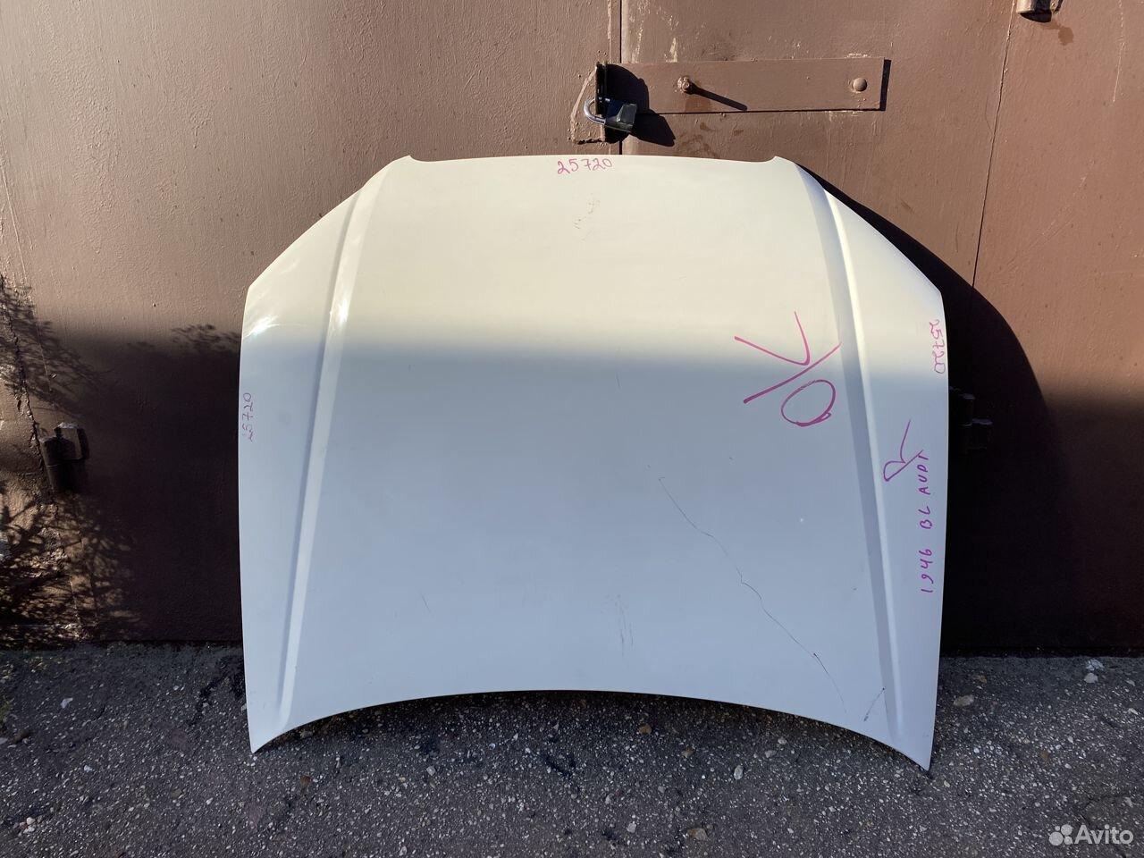 Капот белый Audi A4 B7  89534684247 купить 1