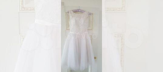 Свадебное платье короткое To be bride купить в Красноярском крае с доставкой | Личные вещи | Авито